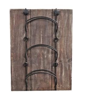 Wine Rack Board, Beach Wood, 15x20x6 Made in Canada