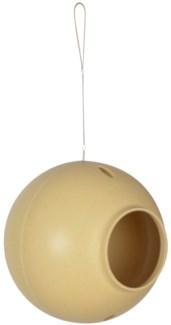 Round Hanging Bird Nest Shell -  (7.1x7.1x7.1 inches)