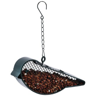 Hanging mesh wire bird feeder bird -  7.99x1.89x12.7
