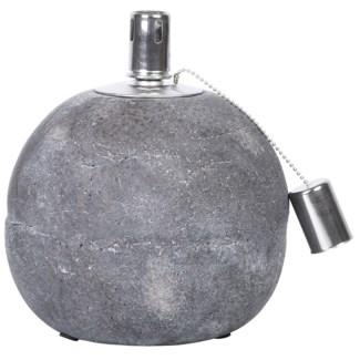 Oil lamp concrete L -  7.17x7.17x21