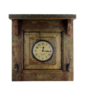 Recycled Window Clock 18x1.5x20 inches On sale 25% off