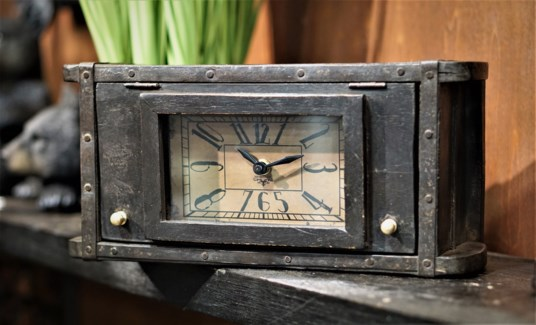 Recycled Brick Mould Clock 13x4x6 inches