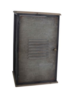 Metal Locker Storage Cabinet Medium 15.1x9.05x26.1inch