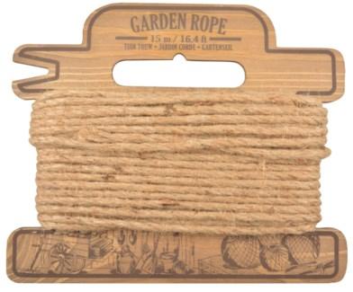 Rope on coil. Pinewood, jute rope. 23,8x3,6x20,0cm. oq/12,mc/12 Pg.79
