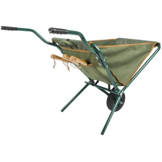 Foldable wheel barrow - 27.5x42.5x29 inches