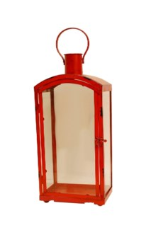 Targo Red Lantern Small 7.5x5.2x19.3inch
