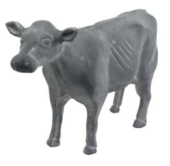 Iron Cow, Grey, 9.4x3.4x5.9