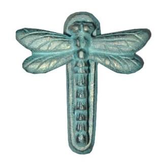 Door Knocker Dragonfly,Verdigris, 5x4.5inch