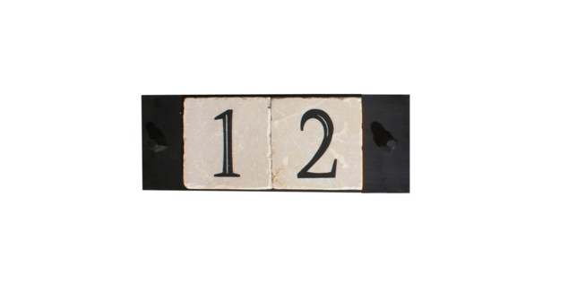 2-tile, with cast screws