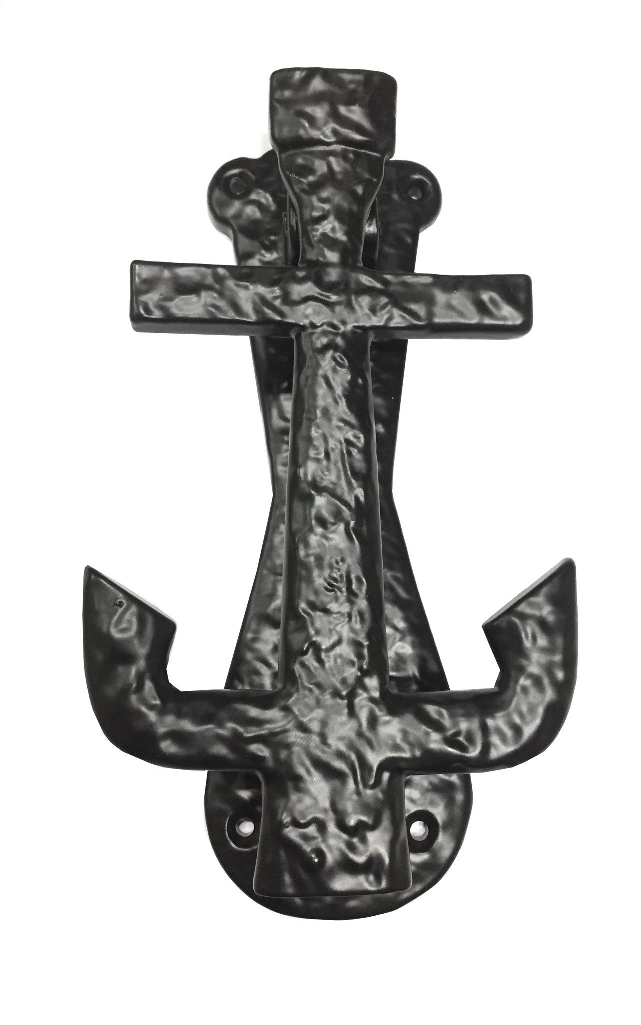 Anchor Door Knocker, 7.5, Black