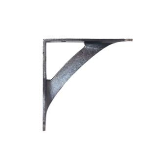 Industrial Design Bracket,  Antique Metal, 5x5.5 inches