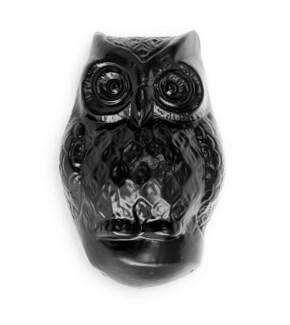 Owl Door Knocker, Black, 4 x 2 x 2 inches
