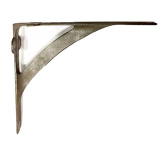 Avant Shelf Bracket, Aged Metal Patina,10x7.5x2 inches