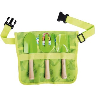 Children toolbar with tools. Canvas, polyester, plastic, metal, wood. 29,2x4,7x25,4cm. oq/24,mc/48