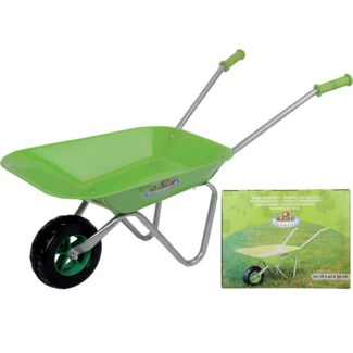 Wheel barrow. Metal , PP. 76,5x40,0x43,0cm. oq/4,mc/4 Pg.101