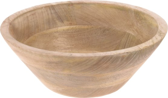 A44710760-Natural Bowl, L, Mangowood, 10x10x3 in