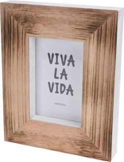 ASH302630. White/Wood Photo Frame 8.1x1.6x10inch On sale 35% off
