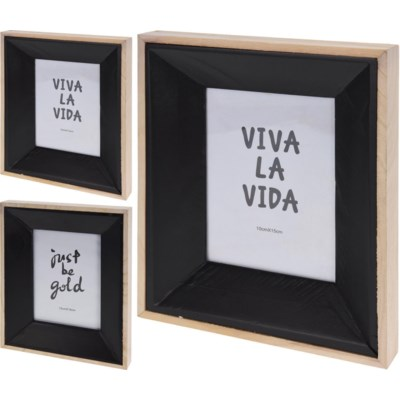 Ash302520 Photo Frame Natural Wodblack 83x12x102inch Units
