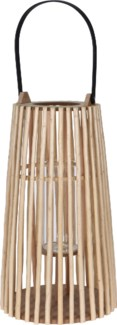 HZ1008410 Willow Lantern Bamboo Handle, Large, 11x18.9 in.