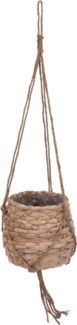 430000030 Hanging Seagrass Basket Tall, 10.6x9.8 in.
