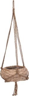 430000020 Hanging Seagrass Basket Short, 12x5.1 in.