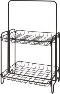 HX9000500 -  Shelf Rack Metal, 14x14x24inches - ON SALE 50 percent off original price 39.99