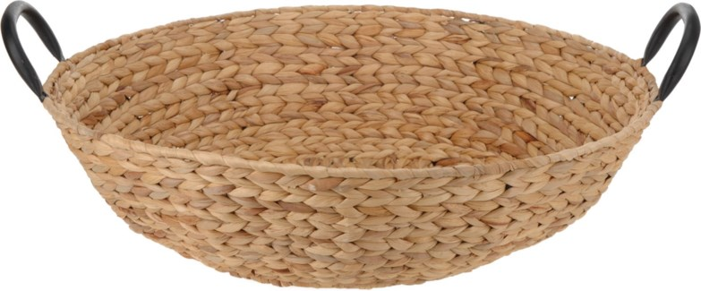 449000050. Basket Round 50x12.5cm with Handles.   - ON SALE 35 percent off original price 26 *Last C