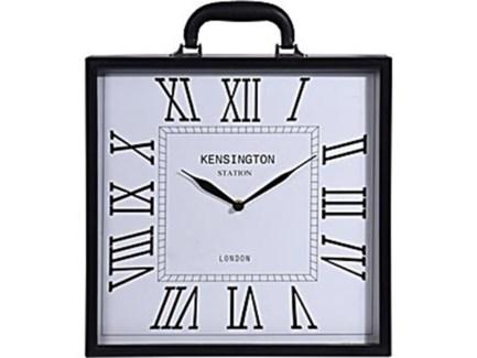 HZ1300610 Square Table Clock, 14 D