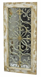 French Country Mirror w/grill - Coming Spring 2019 20x1.18x41.3 inches