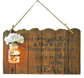 BEACH Driftwood Sign - Coming Spring 2019