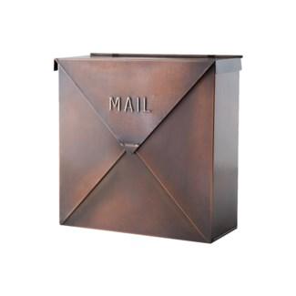 Rockford Mailbox Antique Copper Finish 10x4.1x10inch
