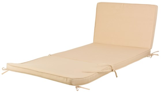 Cushion for MF011. 600D Polyester, PU foam. 60,0x5,7x40,0cm. oq/1,mc/5 Pg.108