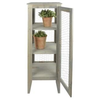 Garden cabinet - 15.25x15.25x46.75 inches