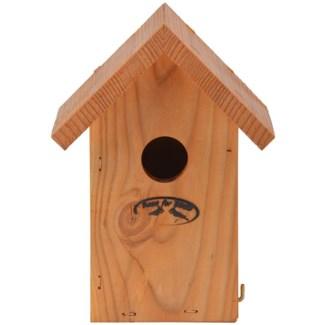 Douglas winter wren nesting box - 5.75x4.75x8 inches