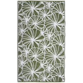 Garden carpet floral pattern - 60x95.25x0.5 inches