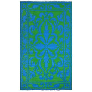 Garden carpet persian green/blue - 60x95.25x0.5 inches