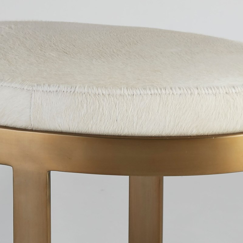 Ellipse Bench Ivory Ant. Gd