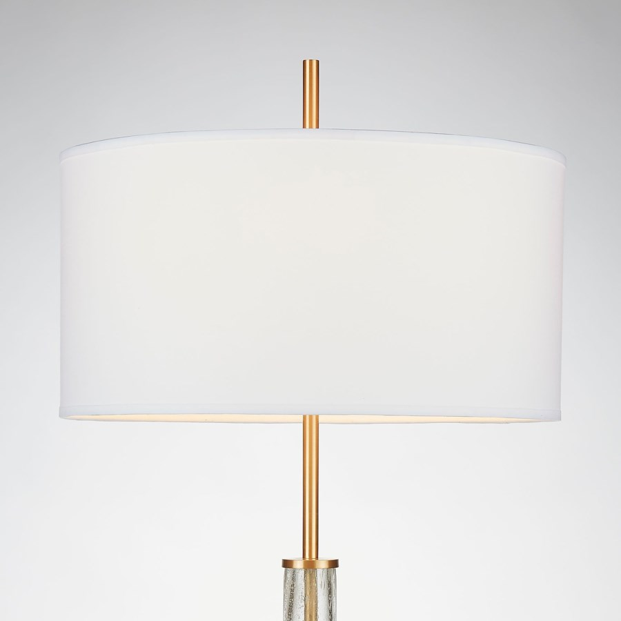Hudson Table Lamp Ant Brass
