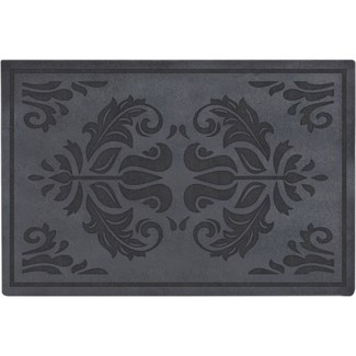 Doormat relief classical -  23.62x15.75x0.3