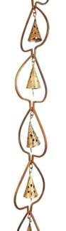 Flamed Aspen w/Bell Rain Chain 3x96 inch. Pg.45