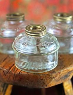 Antique Glass Vase, Small