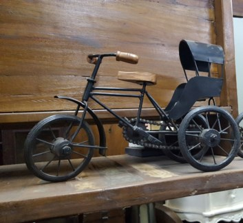 Iron Tricycle Cart