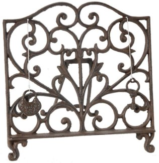 Sophie Bookstand Lectern 10.8x1.2x9.8inch. Cast Iron ON SALE 25 percent off original price 25.50