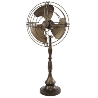 Tabletop Metal Fan Decor 12x7x25.5inch ON SALE 25 percent off original price 60