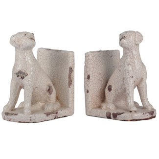 Dog Bookends, 5x3.9x7 Inches