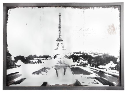 La Tour Eiffel Mirror, 42x2x31 inches On sale 35% off