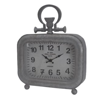 Old Town Table Clock, Short, 9x3x11.5 inches ON SALE 25 percent off original price 39.00
