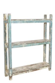 RM-30953 Vintage Rack, Dist. Green 40x9x48 inches