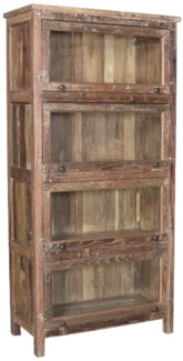 RS-41064 Vintage Replica Cabinet,Mango Wood, Dist. 36x16x72 inches