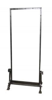 THC-1397 Vintage Replica Mirror, Iron 35x19x77 inches